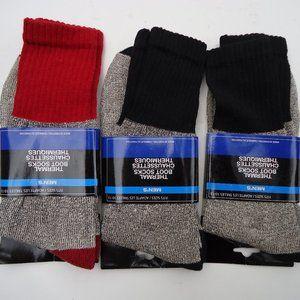 SIZE 10-13. Thermal Boot Socks Bundle of 3 Pair.